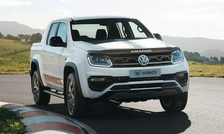 Volkswagen Amarok W580 2021 ใหม่ ตัวแรงขุมพลัง V6 3.0 ลิตร รุ่นพิเศษที่ออสเตรเลีย