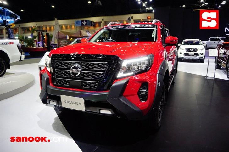 Nissan Navara 2021 ไมเนอร์เชนจ์ใหม่พร้อมชุดแต่งแท้เผยโฉมที่งาน Motor Expo 2020