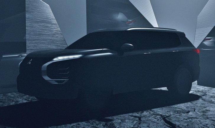 All-new Mitsubishi Outlander 2021 ใหม่ เผยทีเซอร์ก่อนวางขายจริงต้นปีหน้า