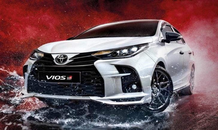 Toyota Vios GR-S 2021 ใหม่ แต่งสปอร์ตพร้อมชุดแต่ง GR เปิดตัวในมาเลเซีย