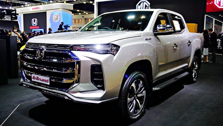 MG Extender 2021 ไมเนอร์เชนจ์ใหม่เผยโฉมที่มอเตอร์โชว์ ราคา 559,000 - 1,039,000 บาท