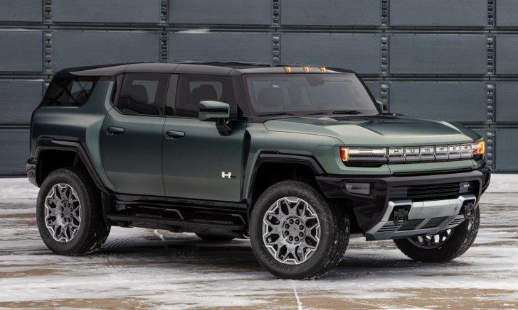 Hummer EV SUV 2023 ใหม่ เอสยูวีสายโหดขุมพลังไฟฟ้าเผยโฉมแล้ว