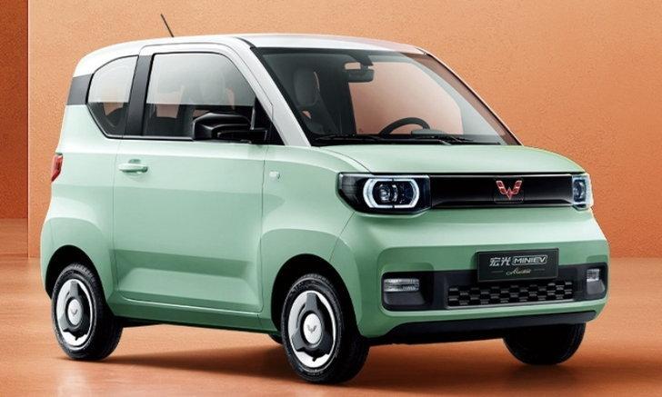 ภาพเพิ่มเติม Hongguang MINI EV Macaron 2021 ใหม่ รถไฟฟ้าสีสดใสราคาแค่ 1.8 แสนบาท