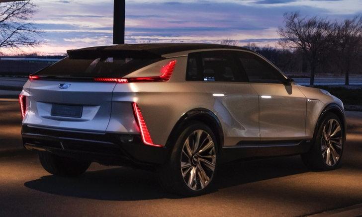 Cadillac Lyriq ใหม่ ต้นแบบรถไฟฟ้าดีไซน์ล้ำจ่อเผยโฉมที่งานออโต้เซี่ยงไฮ้ 2021