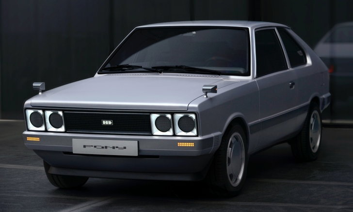 Hyundai Heritage Series PONY ใหม่ ต้นแบบรถไฟฟ้าดีไซน์เรโทรจากฮุนได