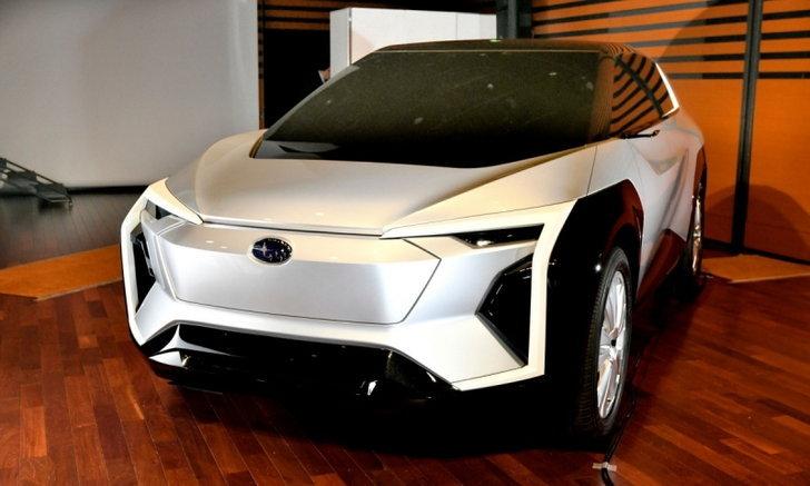 Subaru Evoltis Concept