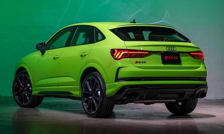 Audi RS Q3 Sportback 2021 ใหม่ ตัวแรงขุมพลัง 400 แรงม้า ราคา 4,750,000 บาท