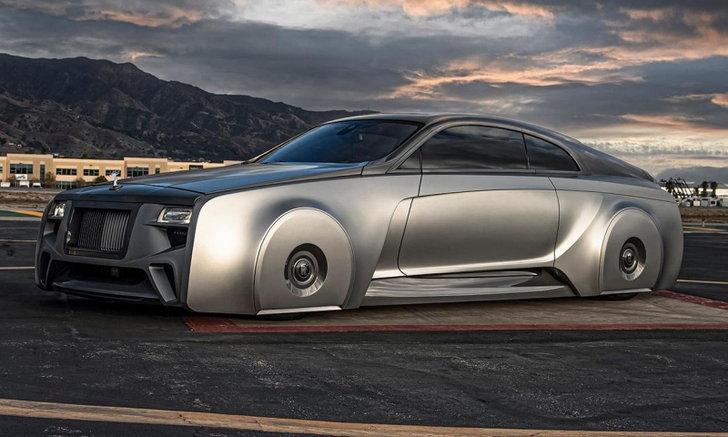 Rolls-Royce Wraith คันนี้ถูกสั่งทำขึ้นเป็นพิเศษโดย Justin Bieber