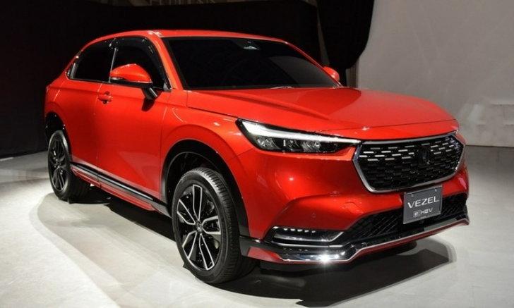 รูปจริง Honda HR-V 2021 ใหม่ พร้อมชุดแต่งจาก Honda Access ที่ญี่ปุ่น