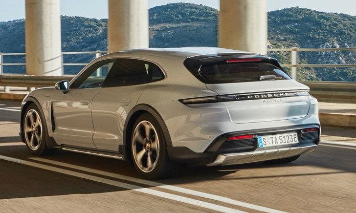 Porsche Taycan Cross Turismo 2021 ใหม่ ขุมพลังไฟฟ้าล้วนราคาเริ่ม 6,690,000 บาทในไทย