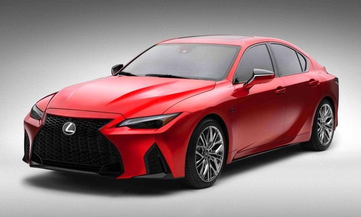 Lexus IS 500 F Sport 2021 ใหม่ ขุมพลัง V8 472 แรงม้าเผยโฉมในสหรัฐฯ