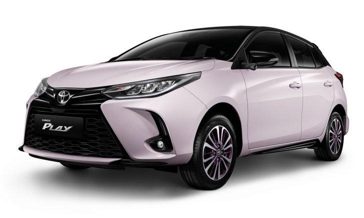 ราคารถใหม่ Toyota ในตลาดรถประจำเดือนมีนาคม 2564
