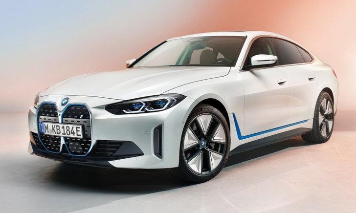 BMW i4 2021 ใหม่ ขุมพลังไฟฟ้า 530 แรงม้า เผยโฉมอย่างเป็นทางการแล้ว