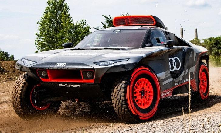 Audi RS Q e-tron ใหม่ รถแข่งแรลลีขับเคลื่อนด้วยไฟฟ้า 680 แรงม้า จ่อลงสนามต้นปี 2022 นี้