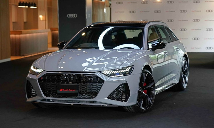 Audi RS 6 Avant 2021 ใหม่ ตัวโหด 600 แรงม้าเปิดตัวครั้งแรกในไทย ราคา 9,890,000 บ