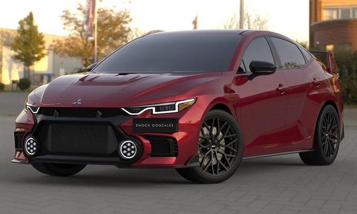 Mitsubishi Lancer EVO XI โฉมใหม่อาจมีหน้าตาเป็นแบบนี้ก็เป็นได้!