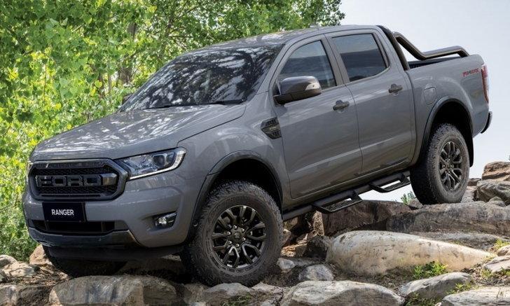 Ford Ranger FX4 Max 2021 ใหม่ เริ่มวางจำหน่ายสีเทานม Conquer Grey แล้ว