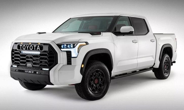 Toyota Tundra TRD PRO 2022 ใหม่ เผยโฉมจริงหลังมีภาพหลุดปรากฏออกมาก่อนหน้านี้