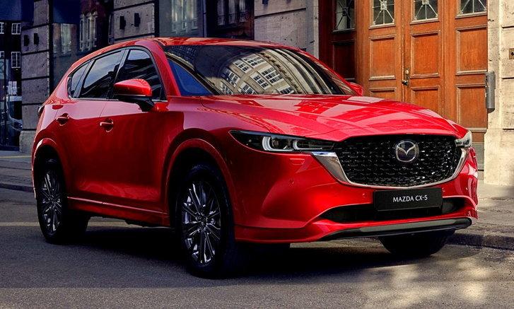 Mazda CX-5 2022 โฉมไมเนอร์เชนจ์ใหม่เปิดตัวอย่างเป็นทางการแล้ว