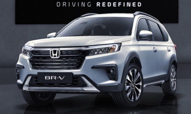 All-new Honda BR-V 2022 ใหม่ เปิดตัวครั้งแรกในโลกที่อินโด-ปรับดีไซน์หรูกว่าเดิม