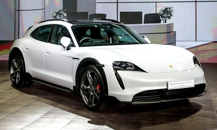 Porsche Taycan Cross Turismo 2022 ใหม่ เคาะราคาในไทยเริ่มต้น 6,790,000 บาท