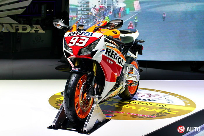 บิ๊กไบค์ค่าย AP Honda งาน Motor Expo 2014
