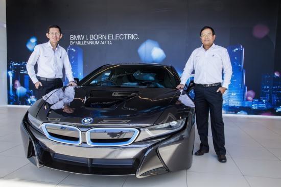 มิลเลนเนียม ออโต้ ได้สิทธิขาย BMW  i8 อย่างเป็นทางการ