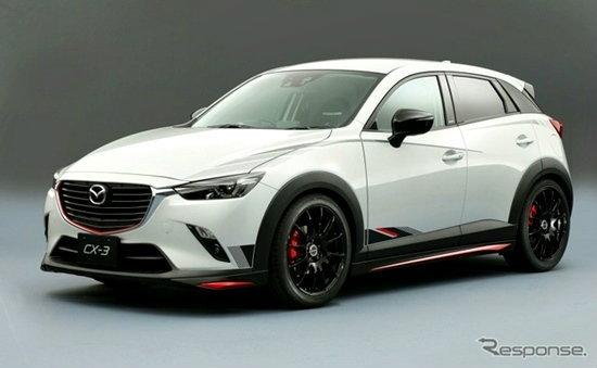 'Mazda CX-3' ใหม่ เตรียมเผยเวอร์ชั่นแต่งในงาน Tokyo Auto Salon 2015 แล้ว
