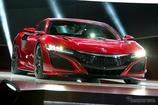 Honda NSX ใหม่ เปิดตัวแล้วเป็นครั้งแรกในโลกพร้อมขุมพลังไฮบริด