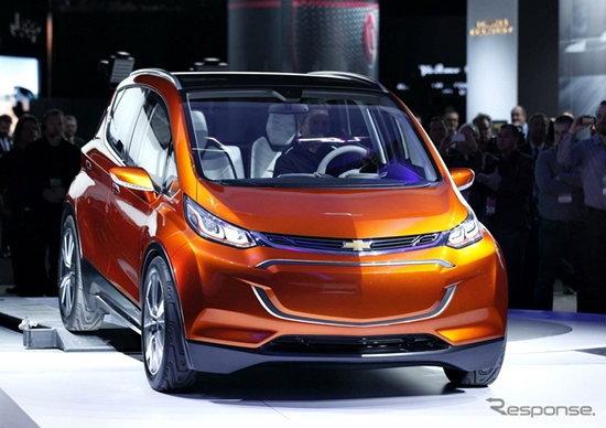 Chevrolet Bolt คอนเซ็พท์คาร์รุ่นล่าสุดเปิดตัวที่ดีทรอยต์มอเตอร์โชว์ 2015