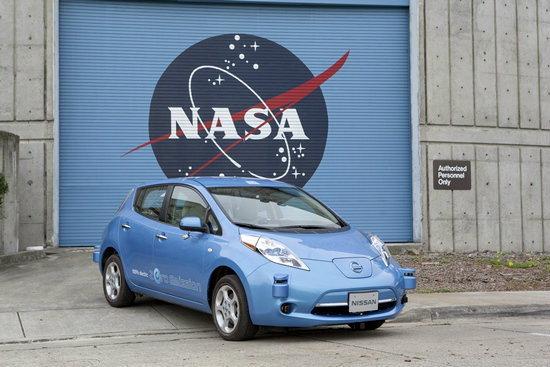NASA-Nissan ร่วมสร้างรถยนต์ไร้คนขับ วิ่งบนดาวอังคาร