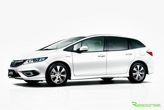 Honda Jade แวกอนพื้นฐาน Civic เตรียมเปิดตัวแล้วในญี่ปุ่น
