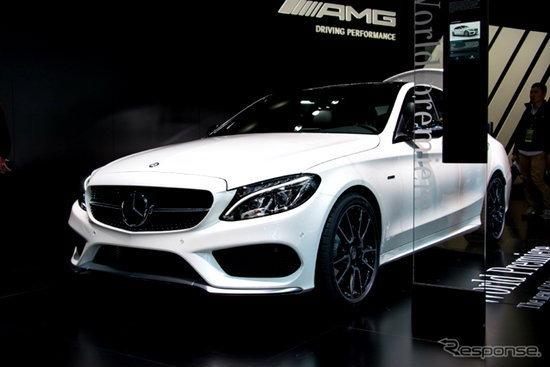 เผยโฉม Mercedes-Benz C450 AMG ขุมพลัง V6 ทวินเทอร์โบ