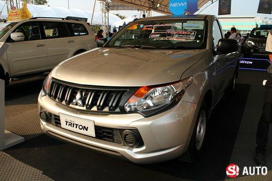 เปิดตัว Mitsubishi Triton เมกะแค็บและซิงเกิ้ลแค็บ 2 ประตู เคาะเริ่ม 4.75 แสนบาท