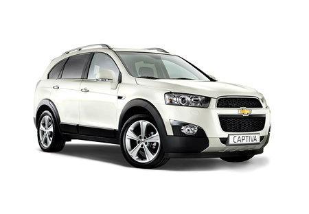 ราคารถใหม่ Chevrolet ในตลาดรถประจำเดือนกุมภาพันธ์ 2558