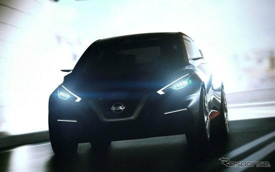 Nissan Sway Concept รุ่นล่าสุดเตรียมเผยโฉมที่เจนีวา