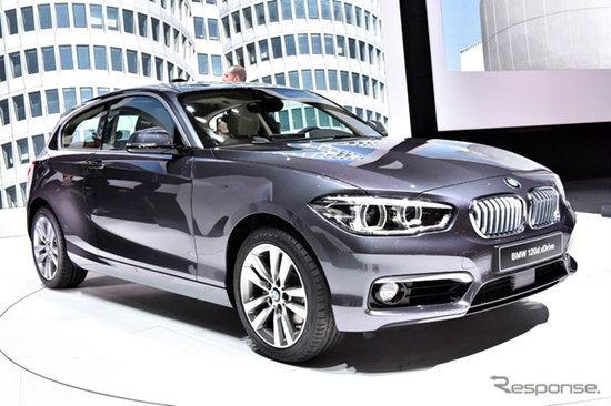 BMW 1-Series ไมเนอร์เชนจ์เผยโฉมในงาน Geneva Motor Show 2015