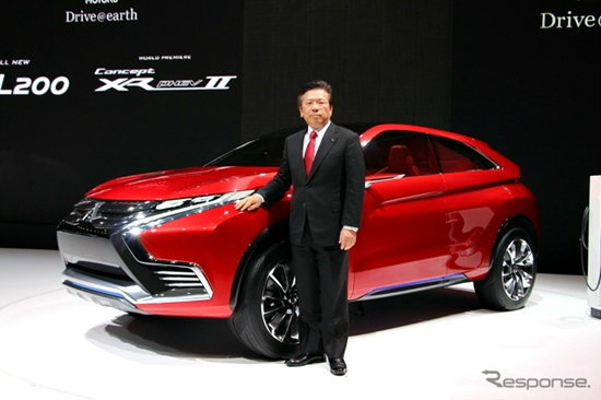 Mitsubishi Concept XR-PHEV II เอสยูวีสุดล้ำเผยโฉมแล้วที่ Geneva Motor Show 2015