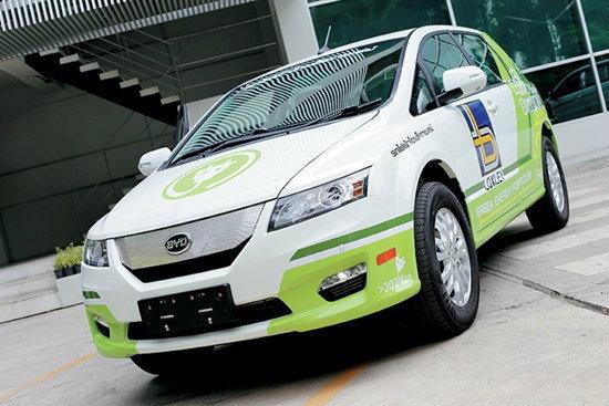 ′ล็อกซเล่ย์′เปิดตัว รถยนต์ไฟฟ้าครั้งแรกในไทย