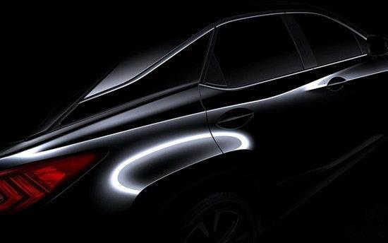 Lexus เตรียมเปิดตัว 'RX' เจเนอเรชั่นใหม่ต้นเดือนเม.ย.นี้ที่กรุงนิวยอร์ค