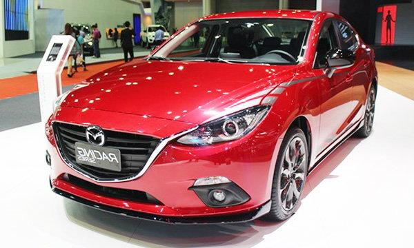 รถค่าย Mazda - Motor Show 2015