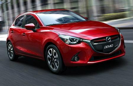 ราคารถใหม่ Mazda ในตลาดรถยนต์เดือนเมษายน 2558