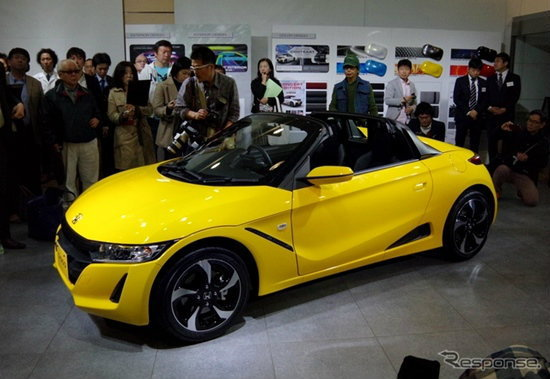 Honda S660 เตรียมลงจำหน่ายตลาดญี่ปุ่นแล้ว