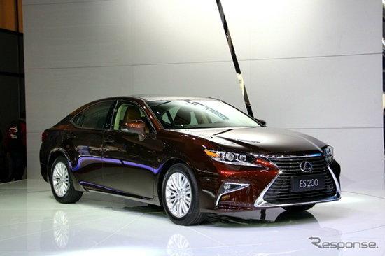 เปิดตัว Lexus ES200 ใหม่ พร้อมเครื่องยนต์บล็อกเล็กเอาใจตลาดจีน