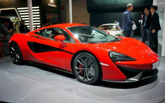 McLaren 540C Coupe ซุปเปอร์คาร์รุ่นเล็กเปิดตัวแล้ว