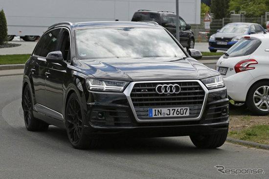 Audi SQ7 ใหม่ ถูกบันทึกภาพขณะปลอมตัวเป็นรุ่นธรรมดา