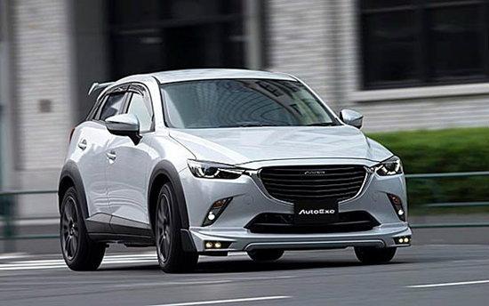 AutoExe เผยโฉมชุดแต่ง Mazda CX-3 ใหม่ โหดสะใจกว่าเดิม