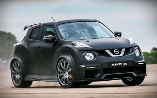 Nissan Juke-R ใหม่ ขุมพลัง 600 แรงม้าเผยโฉมที่ Goodwood