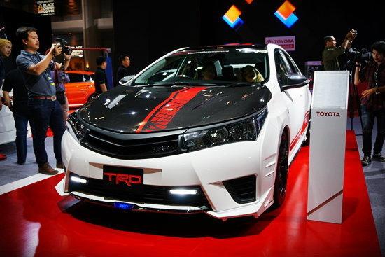 Toyota Altis TRD Supercharger Concept เผยโฉมที่งานออโต้ซาลอน 2015