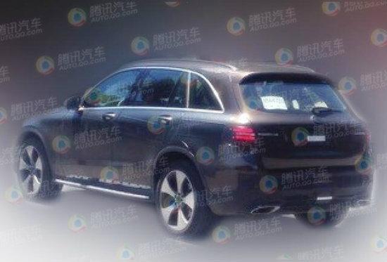 ภาพหลุด Mercedes-Benz GLC 2016 ใหม่ โผล่วิ่งทดสอบในจีน